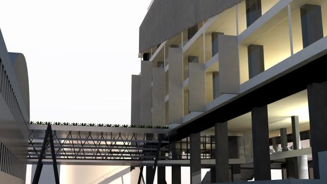 A1 građevina poslovne namjene – uredi, nadogradnja nad podzemnom garažom, Zagreb